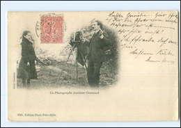 U4538/ Photographe Amateur Cevennot Fotograf Fotoapparat Frankreich AK 1904 - Frankrijk