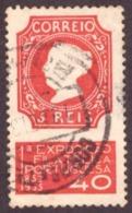 Portugal 1935 -  1°a Exposição Filatélica Portuguesa 40c - 1910-... République