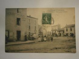 L'Auvergne Pittoresque Lamontgie Place De La Fontaine,restaurant Fournier,Puy De Dôme 63,voyagée 1914,très Bel état,rare - Francia
