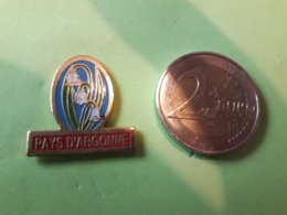 1 PIN'S. PAYS D'ARGONNE. FLEUR MUGUET. - Pin