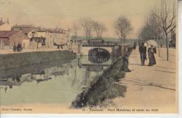 TOULOUSE - Pont Matabiau Et Canal Du Midi - Toulouse