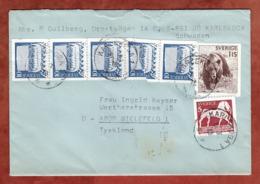 Brief, Braunbaer U.a., Rotkreuz-Vignette, Karlskoga Nach Bielefeld 1978 (79708) - Briefe U. Dokumente