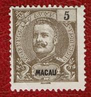 Macau 1903 D. Carlos I #132 MNG - Macao
