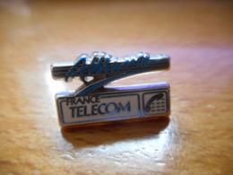 A046 -- Pin's Arthus Bertrand France Telecom Alliance -- Exclusif Sur Delcampe - Arthus Bertrand
