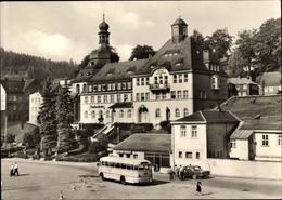Cp Klingenthal Im Vogtland Sachsen, Marktplatz, Rathaus, Bus - Duitsland