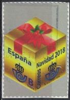 Espagne 2018 Oblitéré Used Christmas Noël Emballage Cadeau SU - 1931-Tegenwoordig: 2de Rep. - ...Juan Carlos I