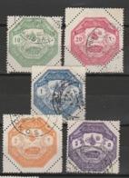 GRECE - THESSALIE 1898 YT N° 1 à 5 Obl. - Thesalia