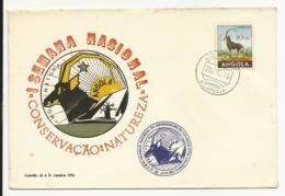 Cover - Angola - Luanda 1976 - I Semana Nacional Da Conservação Da Natureza - Angola