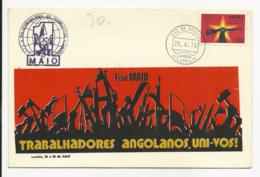 Cover - Angola - Luanda 1976 - Dia Internacional Do Trabalhador - Angola