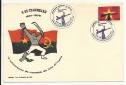 Cover - Angola - Luanda 1976 - 15º Aniversário Do Começo Da Luta Armada - Angola