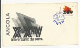 Cover - Angola - Luanda 1985 - XXV Aniversário Da UNTA - Angola