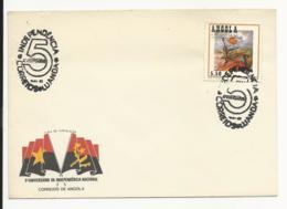 Cover - Angola - Luanda - 5º Aniversário Da Independência Nacional - Angola