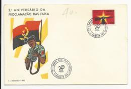 Cover - Angola - Luanda 1976 - 2º Aniversário Da Proclamação Das FAPLA - Angola