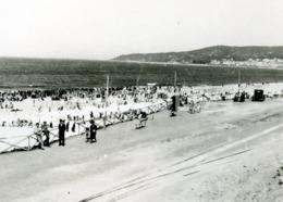 1931 ORIGINAL AMATEUR PHOTO FOTO BEACH PRAIA FIGUEIRA DA FOZ COIMBRA PORTUGAL AT357 - Lieux