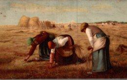 LES GLANEUSES DE MILLET - Peintures & Tableaux