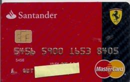 FERRARI SANTANDER - Credit Cards (Exp. Date Min. 10 Years)