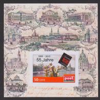 Dresden Semperoper Oper Musik Block, ** Privatpost, Historische Ansichten, Katholische Hofkirche, Synagoge, Belvedere - Kerken En Kathedralen