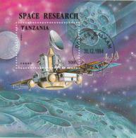 Tanzania 1994 Sc. 1326  Space Esplorazione Spazio Satellite Fobos Rocket Sheet Perf. - Telecom