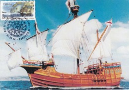 Carte Maximum Bateau Ship Canada 1997 - Maximumkaarten