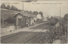 44   Le Cellier Arrivee D'un Express  En Garedu Cellier - Le Cellier