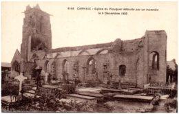 29 CARHAIX - Eglise Du Plouguer Détruite Par Un Incendie Le 9 Décembre 1923 - Carhaix-Plouguer