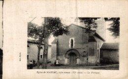 16 EGLISE DE MARSAC  LE PORTIQUE - Francia