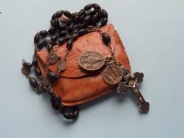 PATERNOSTER ROZENKRANS CHAPELET ROSARY CHAPLET ( Zie/voir Photo Voor/pour Détail ) Avec Sachet ! - Religion & Esotérisme