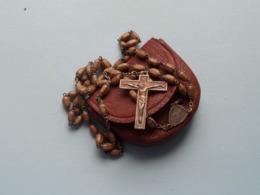 PATERNOSTER ROZENKRANS CHAPELET ROSARY CHAPLET ( Zie/voir Photo Voor/pour Détail ) Avec Sachet ! - Religión & Esoterismo