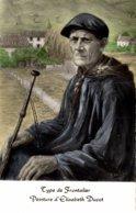 PEINTURE  TYPE DE FRONTALIER PEINTURE D'ELISABETH DUCOT - Peintures & Tableaux