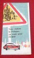 Dépliant Touristique 1959 Visitons La Pologne En Route Pour L'URSS Itinéraires Formalités Administratives - Folletos Turísticos