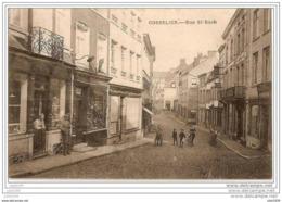 GOSSELIES ..--  Rue St - Roch . 1920 . Voir Verso . Voir Texte MILITARIA . - Charleroi