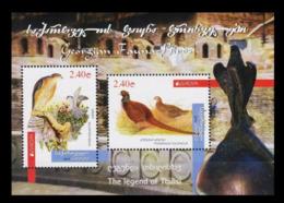 Georgia Georgien  MNH 2019 Stamp Bird Vogel  Set 731-32 Bl.87 - 2019