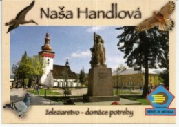 St. Catherine Church In Handlová, Uncirculated Postcard.,Slovakia - Slovaquie