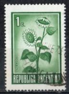 Argentina 1971 - Girasole Sunflower - Argentina