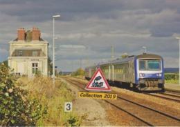 617 - Autorails EAD X 4795 Et 4790, En Gare De Couliboeuf (14) - - France