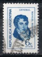 Argentina 1970 - Manuel Belgrano Generale General - Argentina