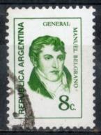 Argentina 1972 - Manuel Belgrano Generale General - Argentina