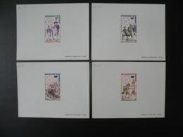 Dahomey  1975  épreuve De Luxe N° Pa 238 - 239 - 240 - 241  Bicentenaire De L'indépendance Des Etats-Unis - Indépendance USA