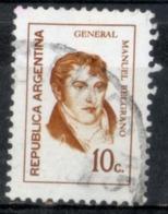 Argentina 1973 - Manuel Belgrano Generale General - Argentina