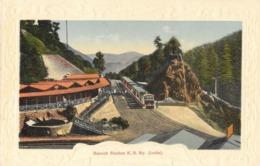 "Very Rare 1910s Postcard Of, ""Baroch (Barog) Station K. S. Ry. (India)"", Transport, Railway Station,  Himachal Pradesh - Stazioni Con Treni"