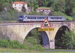 618 - Autorail X 4705 Au Viaduc De Borne, à Saint-Vidal (43) - - Trains