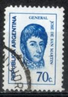 Argentina 1973 - Josè De San Martin Generale E Politico General And Politician - Argentina