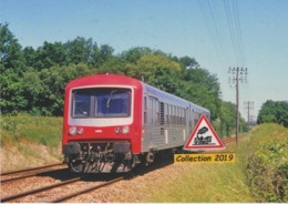 619 - Autorail X 4661 Du TER Bourgogne, à Montceau-les-Mines (71) - - Trains