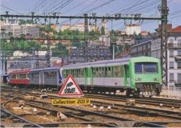 620 - Autorails EAD Pour Bourg-en-Bresse, à Lyon-Perrache (69) - - Eisenbahnen