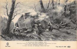 Bataille De Verdun - Ravins De Vaux - Auto-Mitrailleuse - Guerre 1914-18