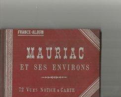 15 Carnet Mauriac Et Ses Environs 72 Vues Notice Et Carte - Mauriac