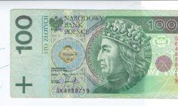 BILLET 100  POLONIA  POLSKI 1994 - Romania