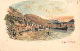 Bergen - 1899 - Litho Type - Noruega