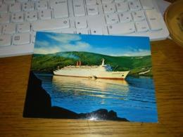 148415 VECCHIA CARTOLINA NORVEGIA NORWAy Grossa Nave Hanseatic - Norvegia