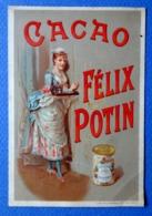 CHROMO....CACAO FELIX POTIN...LITH.VIEILLEMARD.......SOUBRETTE - Félix Potin